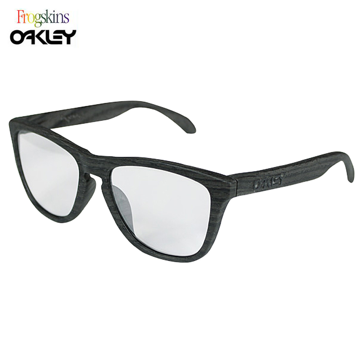 oakley wood grain frogskins