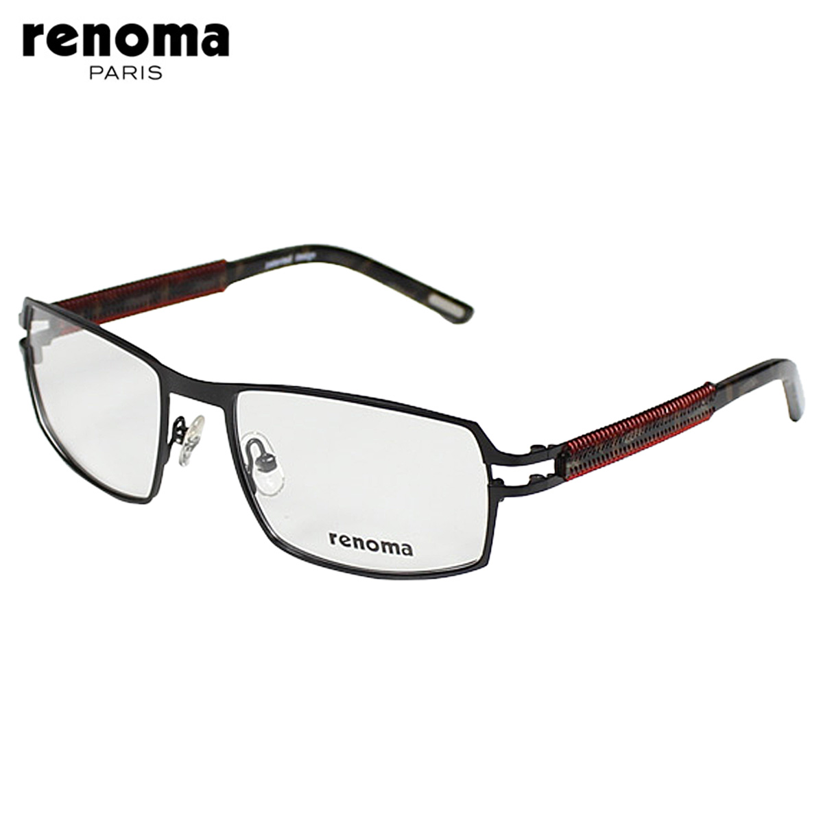 11cb0437bb Renoma renoma glasses  Black  metal frame mens Womens unisex eyewear  business  regular