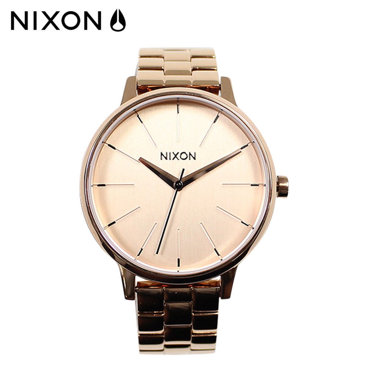 NIXON ニクソン 腕時計 36mm ウォッチ 時計 A099 オールローズゴールド KENSINGTON メンズ レディース