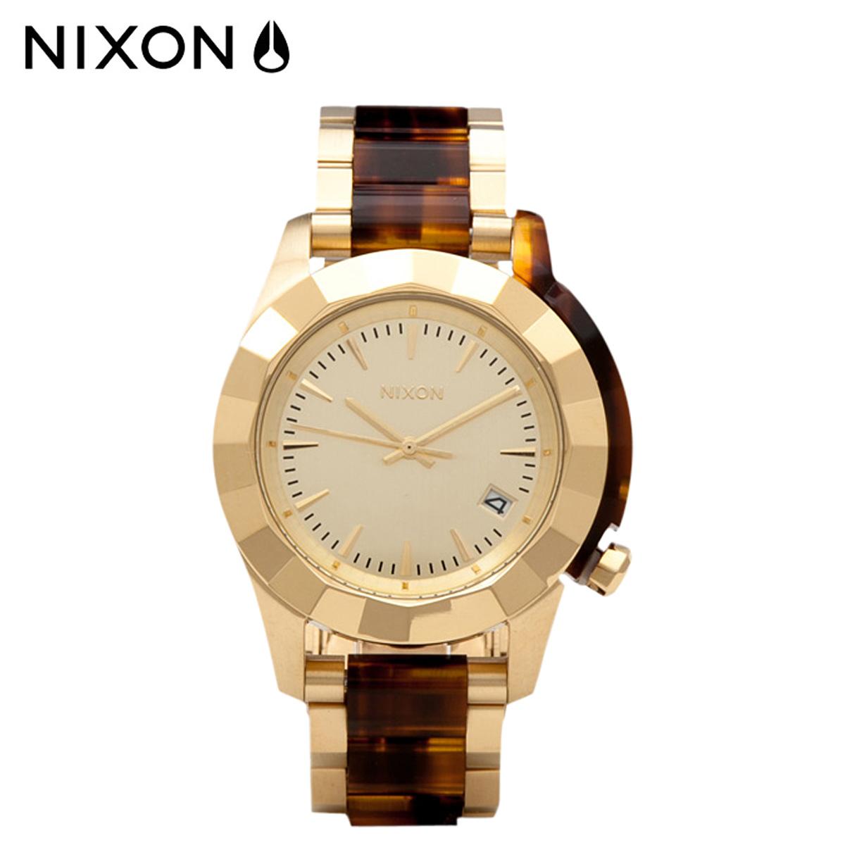 NIXON ニクソン 腕時計 38mm ウォッチ 時計 A288 ゴールド モラセス MONARCH メンズ レディース