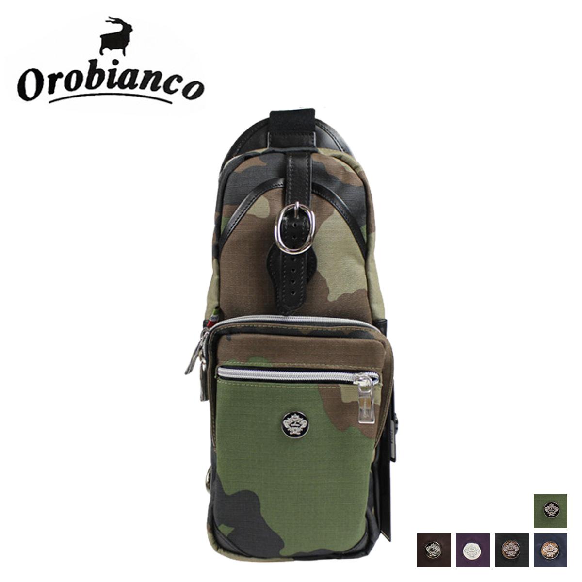 オロビアンコ Orobianco ボディバッグ ワンショルダー ANNIBALE 77548 77549 77552 77553 77554 メンズ