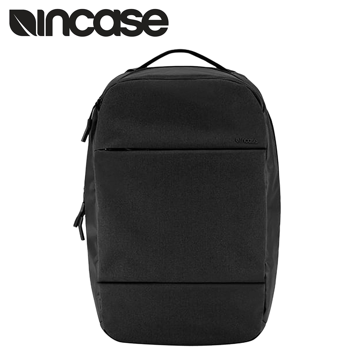 Incase chrome slider INCASE Backpack Backpack mens 2015 stock CL55452 black  CITY COLLECTION COMPACT BACKPACK [2/18 new in stock] [regular] ★ ★