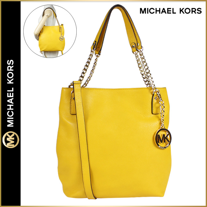 Point 2 x Michael courses MICHAEL KORS women\u0027s 2-WAY shoulder bag handbag  leather 2015