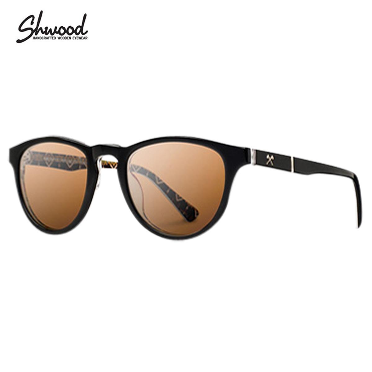 シュウッド Shwood サングラス ペンドルトン コラボ ハンドメイド アメリカ製 木製 メンズ レディース