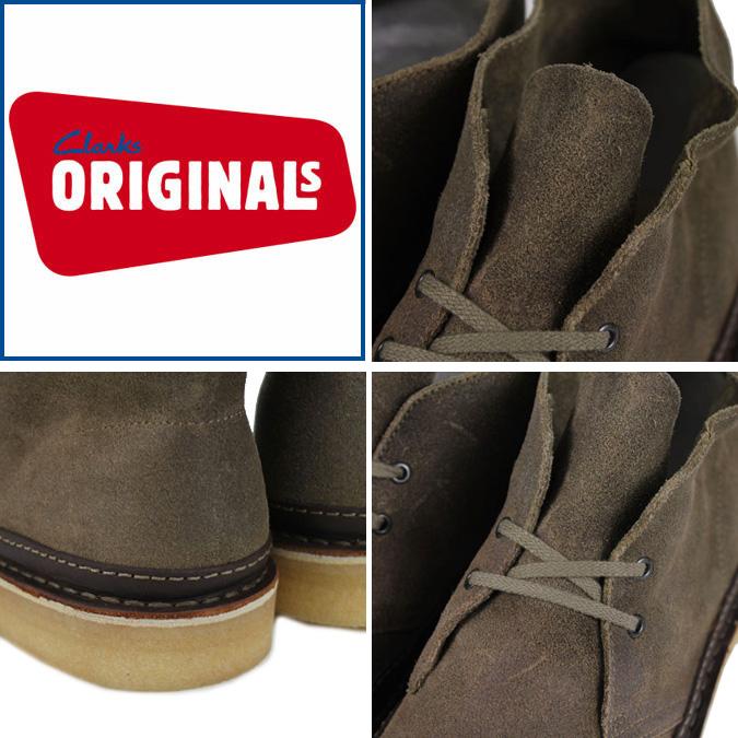 克拉克斯原件 Clarks 原件沙漠靴沙漠警卫 62132 男装