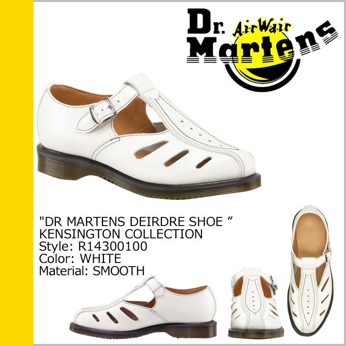 [卖出] 博士马滕斯 Dr.Martens 凉鞋 [白色] R14300100 迪尔德丽皮革男装女装中性 [真正]