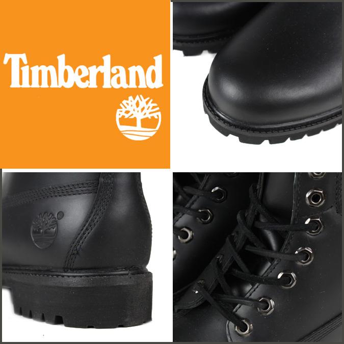 Timberland 6 Tommers Støvler Sort Skinn eNtSdOHYPp