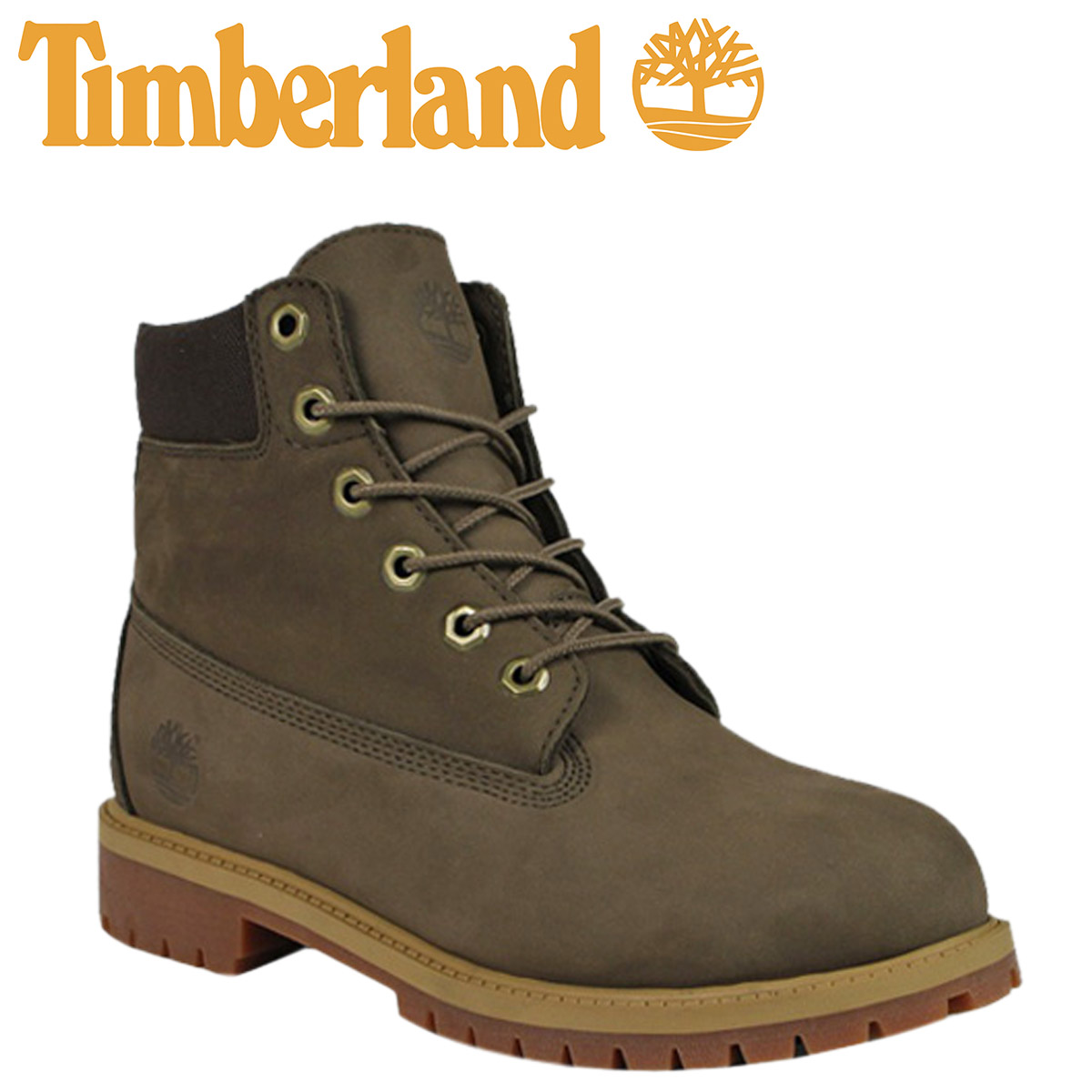 65c8a083d0d40  SOLD OUT  Timberland Timberland 6 inch premium boots  canteen Brown  3298  R 6inch Premium Boot junior kids child women s CANTEEN GS