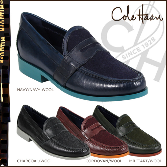 f24b54c5990 Cole Haan Cole Haan loafer C10946 C10945 C10943 C10944 AIR MONROE PENNY  leather wool mens NIKE ...