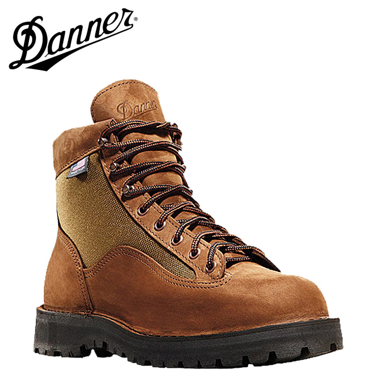 Danner ダナー ダナーライト2 33000 ライトブラウン Danner Light II Dワイズ EEワイズ ヌバック ブーツ BOOTS Made in USA メンズ [3/3 再入荷]