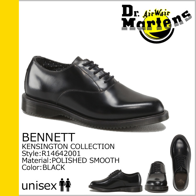 5 霍尔博士马滕斯 Dr.Martens 鞋 R14642001 贝内特皮革男装
