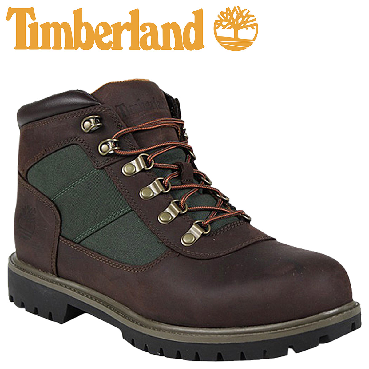 48509e279f3 Timberland Timberland camping boots brown olive-green 6269R NM Camping Boot  leather foreign countries limitation field boots men