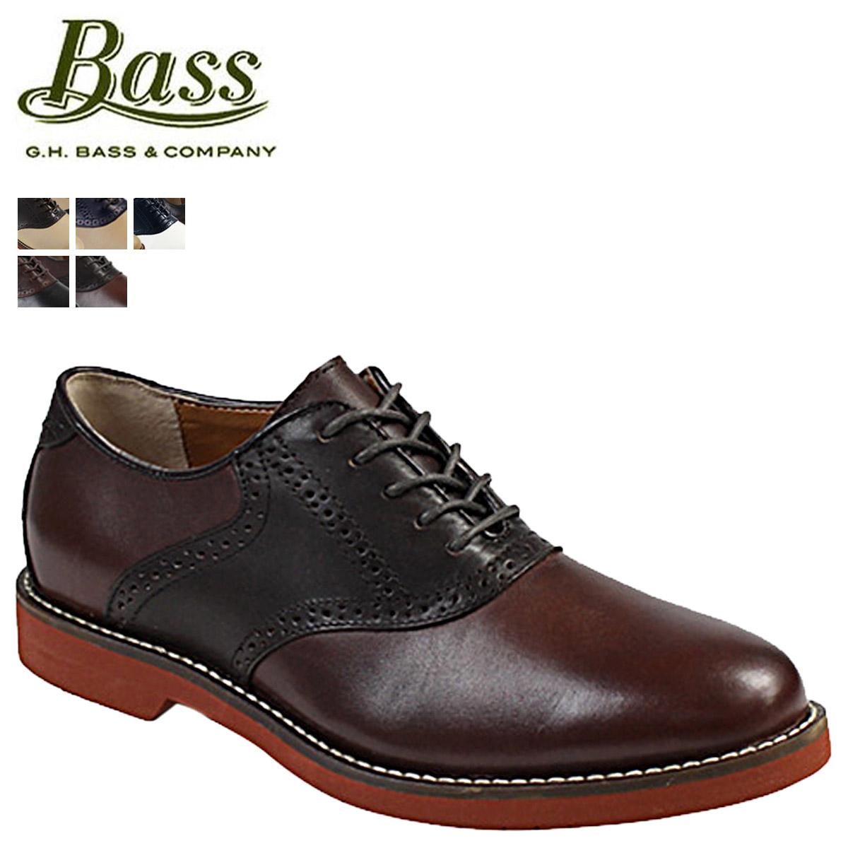 G H bus G.H. BASS Burlington [5 colors] BURLINGTON D Wise leather men  saddle shoes [2/10 additional arrival] [regular]