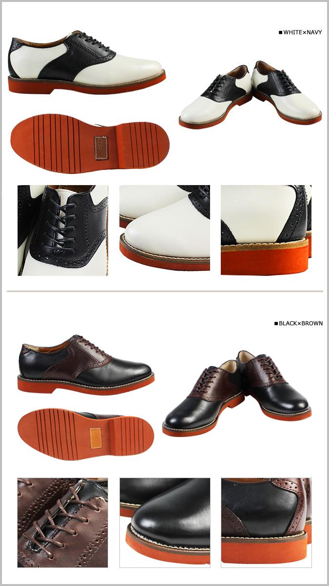 点 2 x 5 颜色 gyaitibas G.H.低音伯灵顿伯灵顿 D 明智皮革男装的鞍脊鞋 [定期] ★ ★ 02P11Apr15