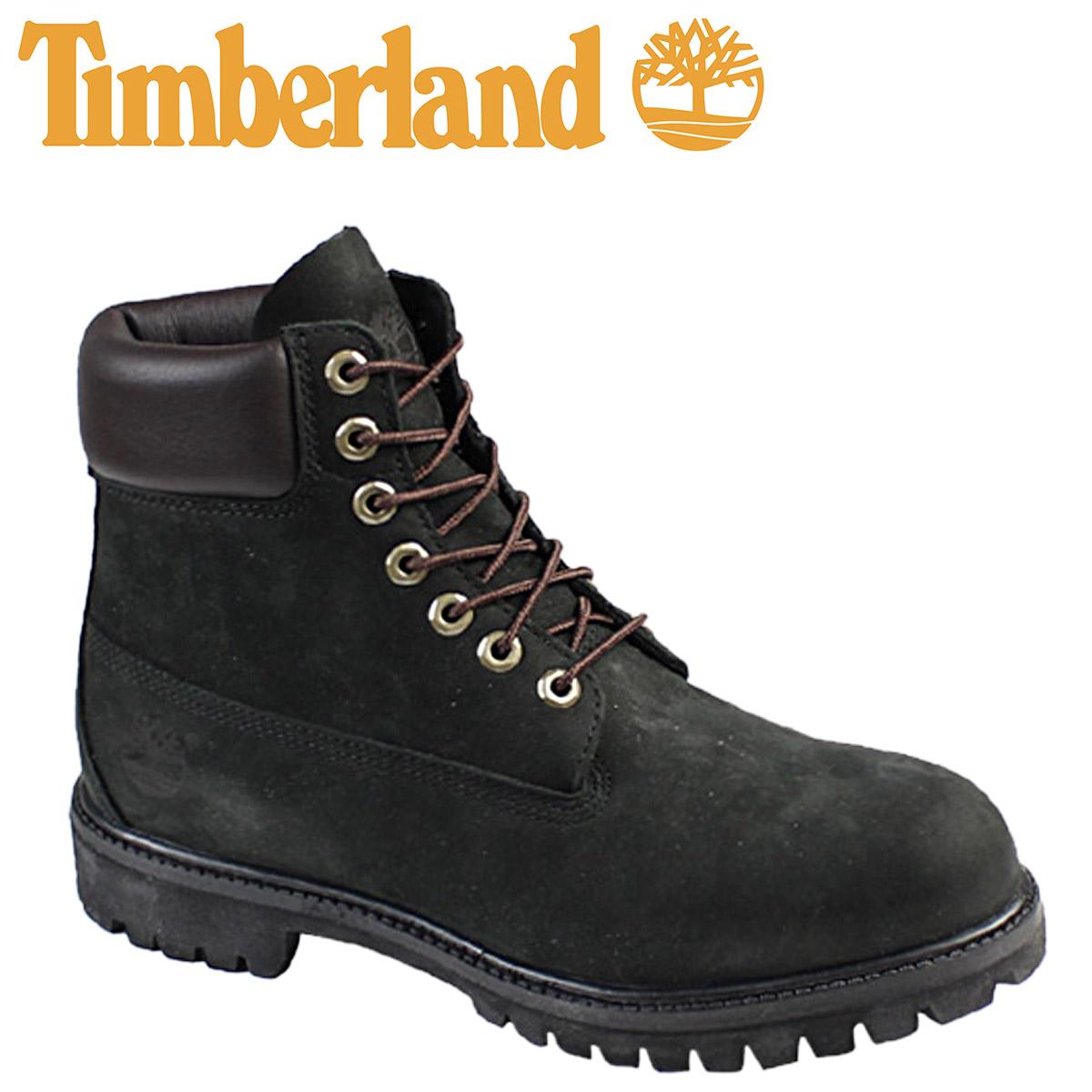 24f0ae51399 6 inches of Timberland Timberland premium waterproof boots black black  44520 6inch Premium Waterproof Boot nubuck men