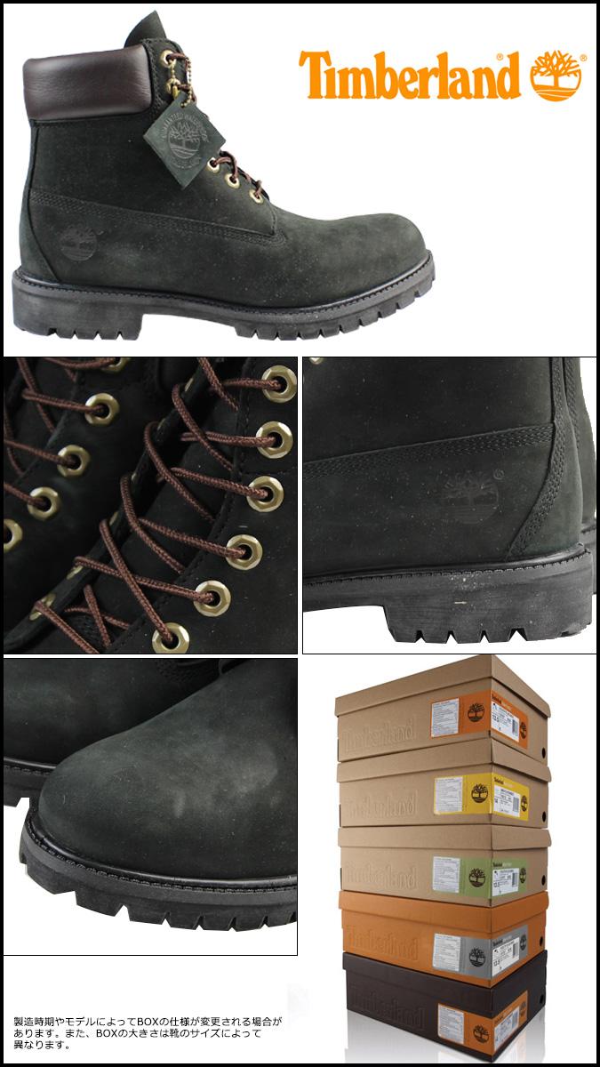 Timberland Botas Para Hombre 6 Pulgadas Premium 44520 Negro JAwm53AW
