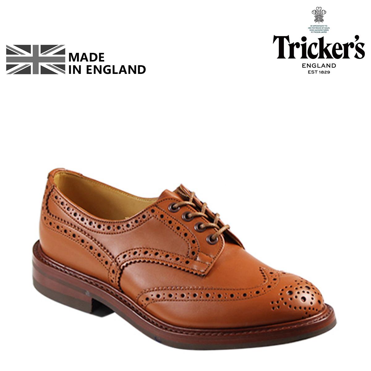 Tricker's トリッカーズ ウイングチップ シューズ KESWICK M7292 5ワイズ メンズ