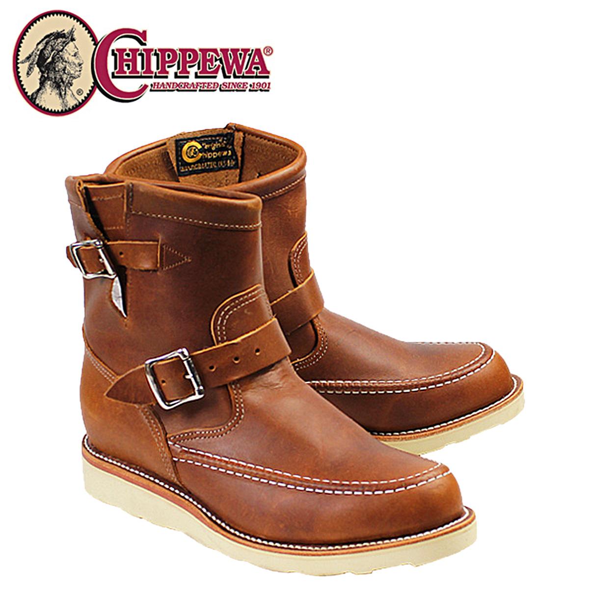 CHIPPEWA チペワ 7INCH RENEGADE HIGHLANDER ブーツ 7インチ レネゲード ハイランダー 1901M08 Eワイズ タン メンズ