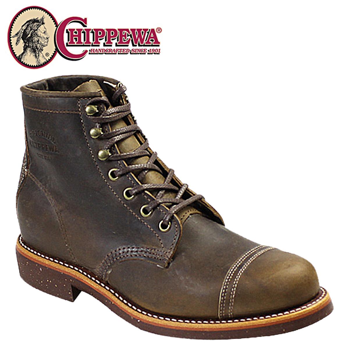 CHIPPEWA チペワ 6インチ ホームステッド ブーツ クレイジー ホース 1901M33 6INCH HOMESTEAD BOOT Dワイズ レザー メンズ [3/30 再入荷]
