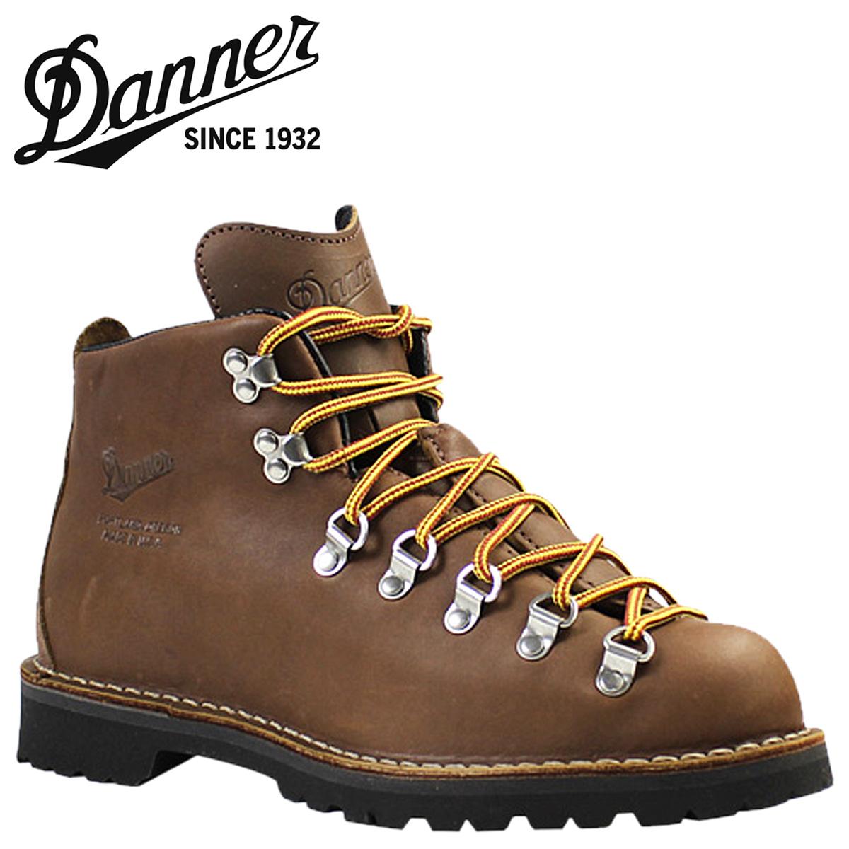 Danner Danner 山轻木材 [棕色] 山光木材 EE 明智皮革男装 30876 靴美国制造