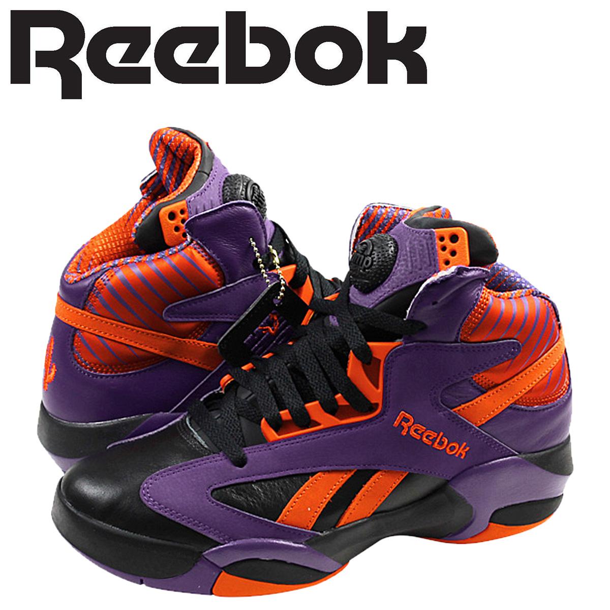 Reebok リーボック シャック スニーカー SHAQ ATTAQ PHOENIX SUNS V61029 メンズ 靴 パープル
