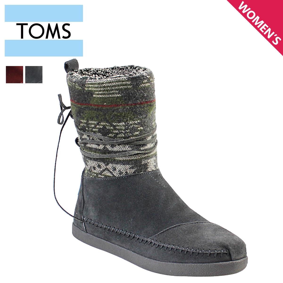 TOMS SHOES Toms shoes suede Jacquard Womens Nepal boots 2 color 1000065  Suede Jacquard Women s Nepal Boots Womens suede TMS  regular  8798c3af9e