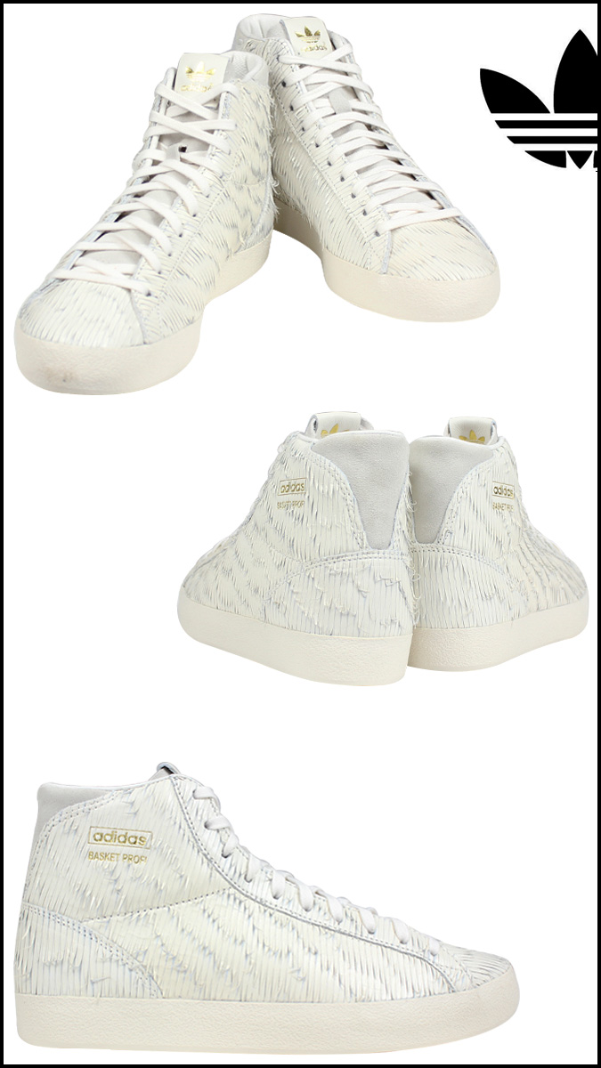 size 40 372a4 4fafb Adidas originals adidas Originals Womens BASKET PROFI EAGLE W sneakers  バスケットプロフィ Eagle leather men white D65896 5  2 new in stock regular ☆  ...
