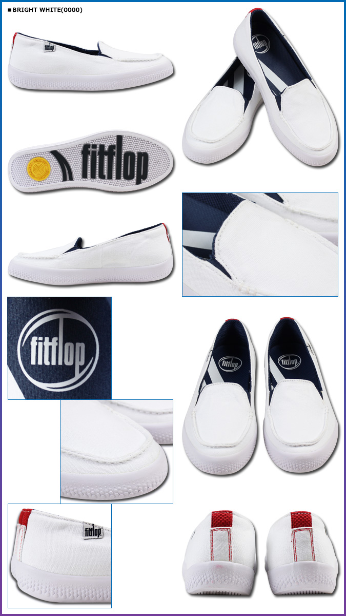 60fbcbe29c75 Fitting FLOP FitFlop sunny slip-ons SUNNY canvas shoes loafer 382 3 color  Lady s