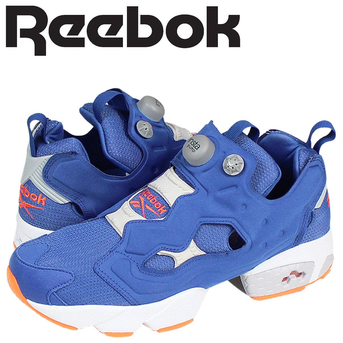 Reebok リーボック ポンプフューリー スニーカー INSTAPUMP FURY 20周年 M42231 メンズ 靴 ブルー 【決算セール 返品不可】