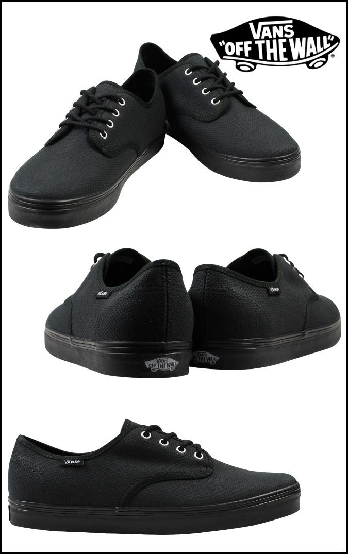 卡车VANS运动鞋MADERO HEMP BLACK VN-0OYC3VS人鞋黑色