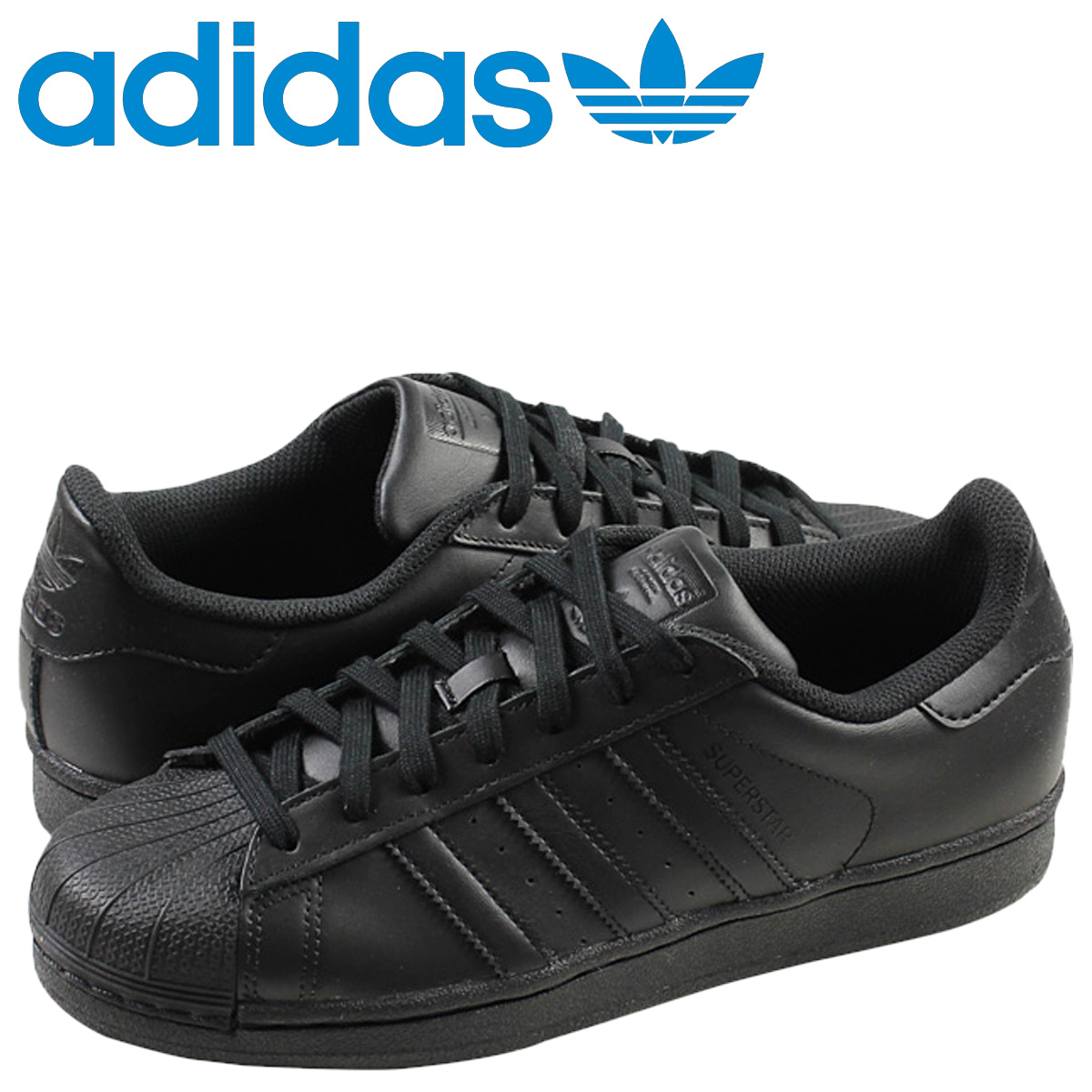 adidas Originals Adidas originals superstar sneakers SUPERSTAR FOUNDATION AF5666 men gap Dis shoes black black