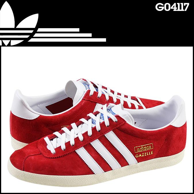 Point 2 x adidas originals adidas Originals GAZELLE OG sneaker Gazelle  suede men\u0027s G04117 red x