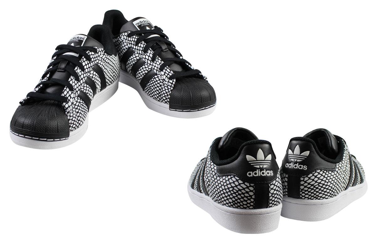buy online aa628 91354 adidas Originals Adidas originals superstar sneakers SUPERSTAR SNAKE PACK  S81728 men gap Dis shoes black black
