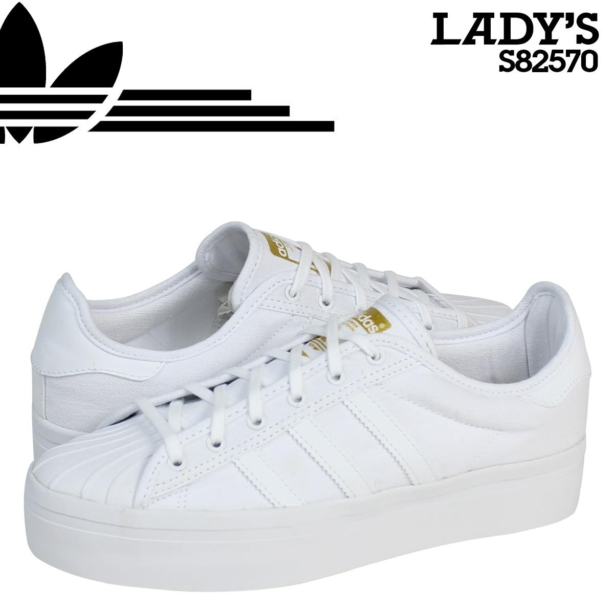 ... Adidas originals adidas Originals Womens SUPERSTAR RIZE W sneakers Super  Star rise S82570 white [8