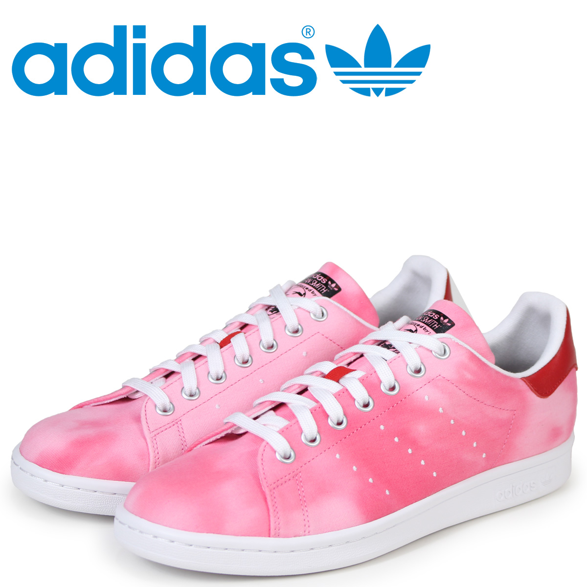 3d236caaa adidas Originals Stan Smith Adidas sneakers Farrell Williams PW HU HOLI  STAN SMITH men collaboration AC7044 red originals  load planned Shinnyu  load in ...