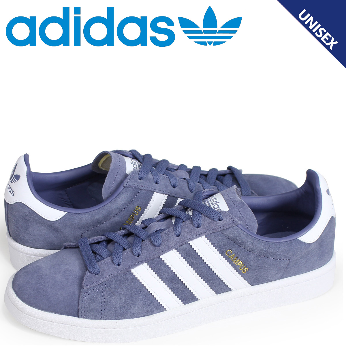 uk availability 93ad6 2fa49 adidas Originals campus Adidas originals sneakers CAMPUS men gap Dis AQ1089  blue load planned Shinnyu load in reservation product 77 containing