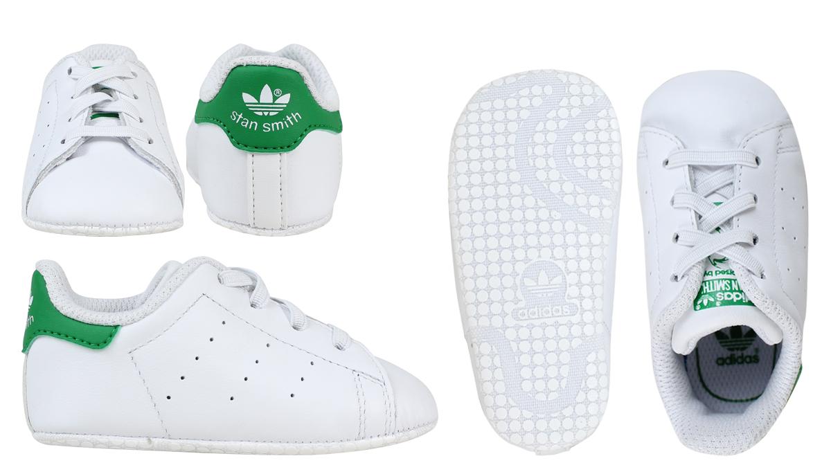 0719d5b7363ff ... adidas Originals adidas originals Stan Smith sneakers STAN SMITH CRIB  B24101 shoes white  8  ...