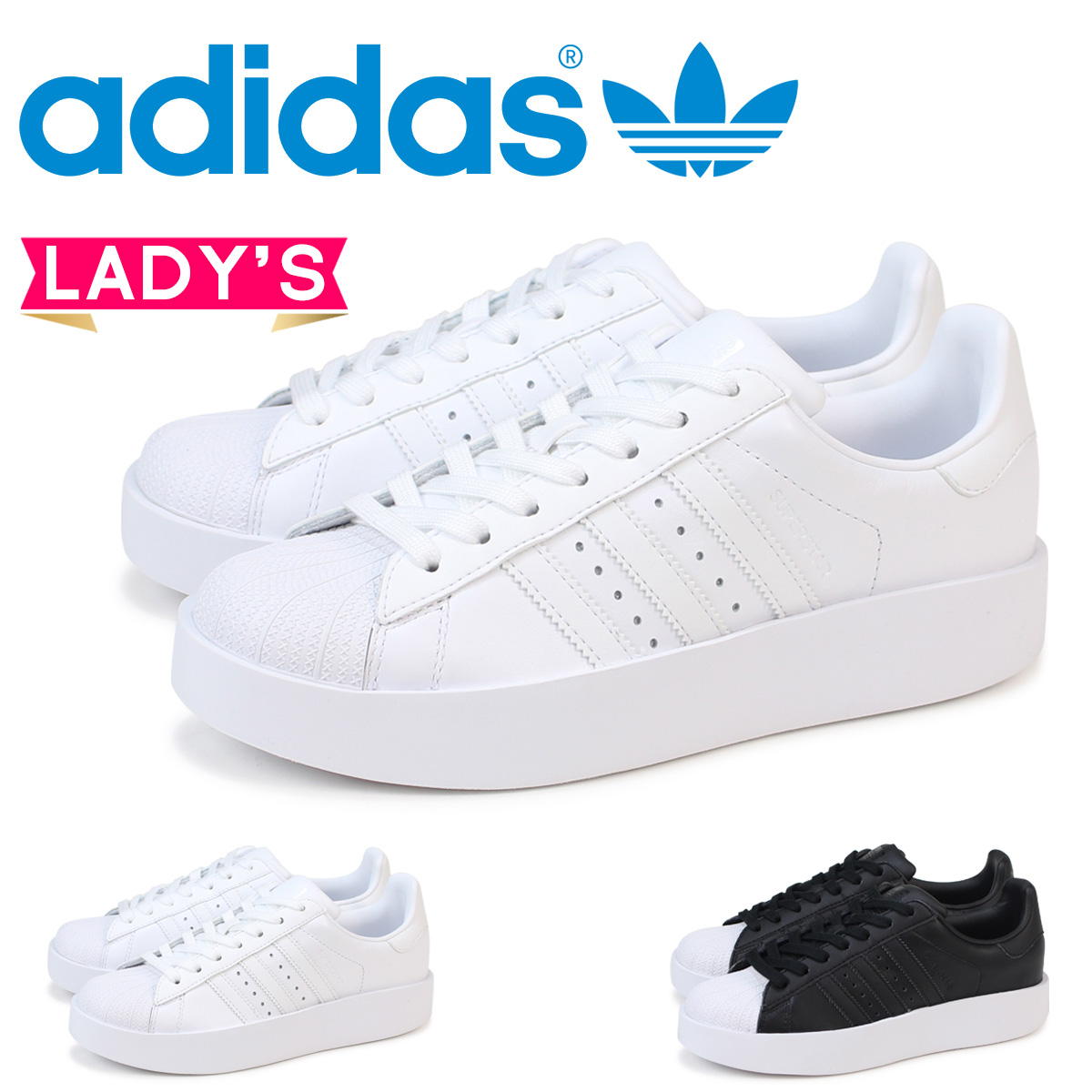 nice shoes cute cheap get new adidas superstar Lady's Adidas Originals sneakers SUPERSTAR BD W BA7668  BA7671 shoes