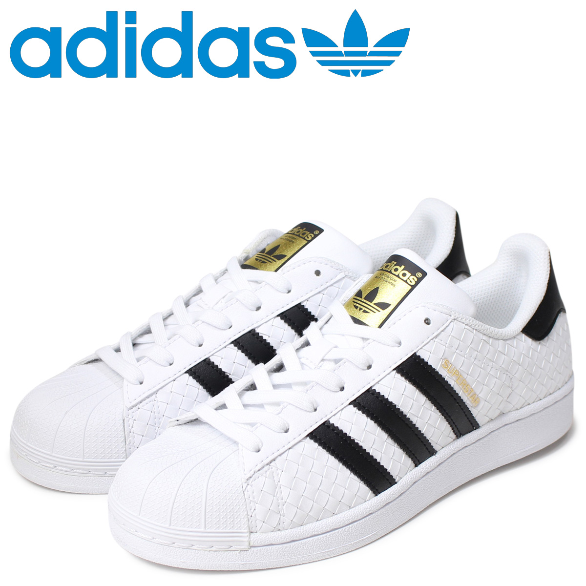Adidas superstar adidas Originals men sneakers SUPERSTAR BB1172 shoes white [12/22 Shinnyu load]