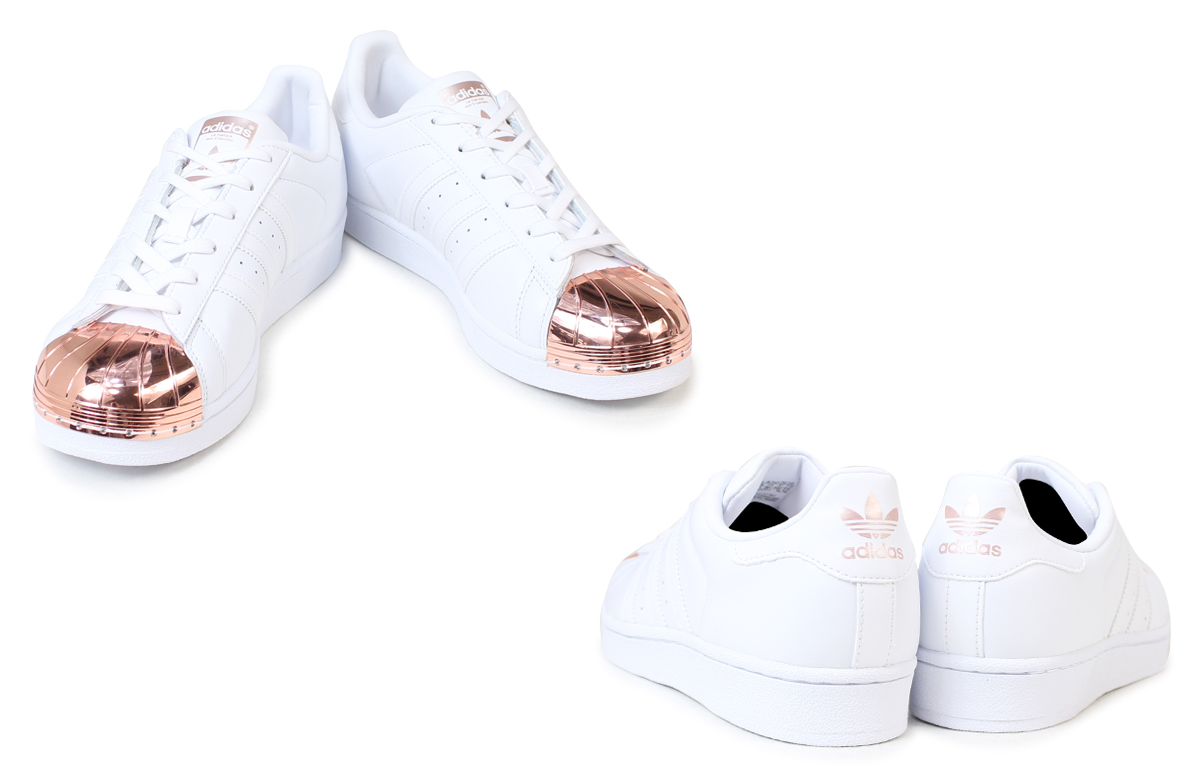 cheap for discount 4ff55 5f43d  up to 2,000 yen OFF coupon  Adidas superstar Lady s sneakers adidas  originals SUPERSTAR METAL TOE W BY2882 BY2883 shoes white black originals   1 17 Shinnyu ...