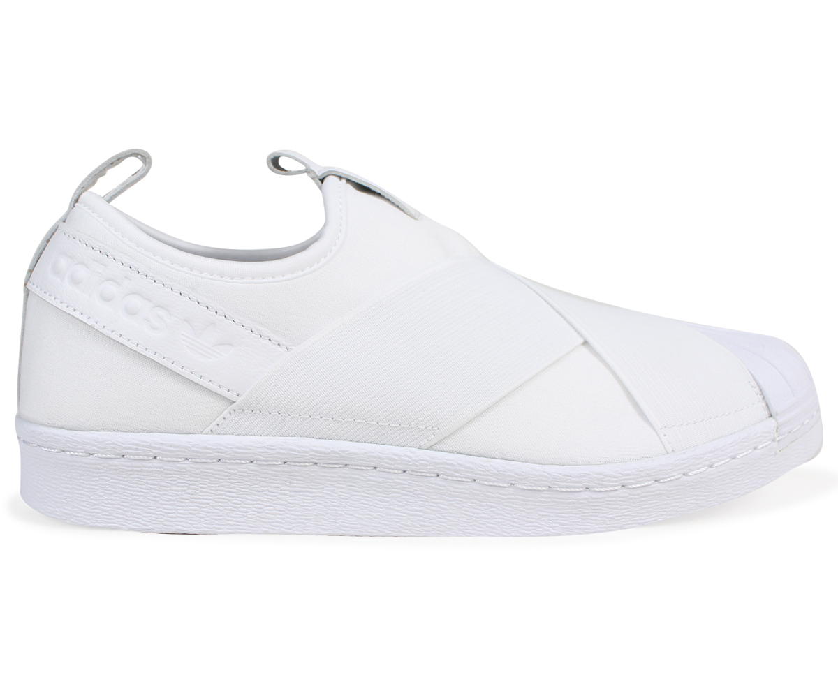 new product 5e833 baf1b adidas Originals superstar Adidas sneakers slip-ons SUPERSTAR SLIP-ON men  gap Dis BZ0111 white white originals
