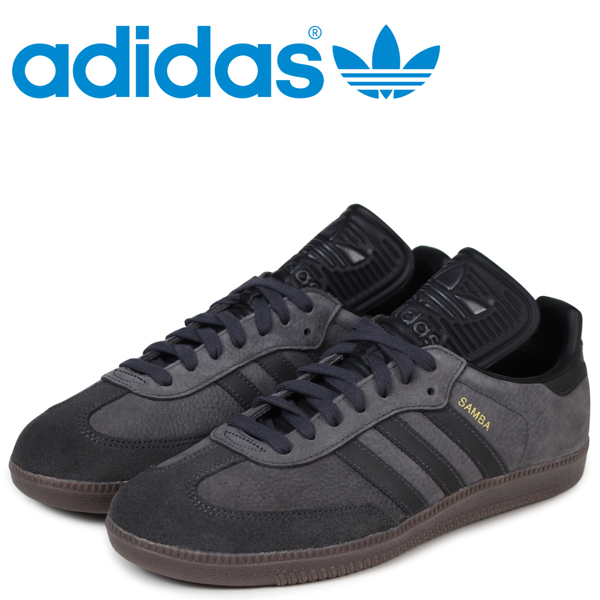 new style b5925 93fb6 adidas Originals samba Adidas sneakers SAMBA CLASSIC OG men BZ0227 black  originals  load planned Shinnyu load in reservation product 3 20 containing