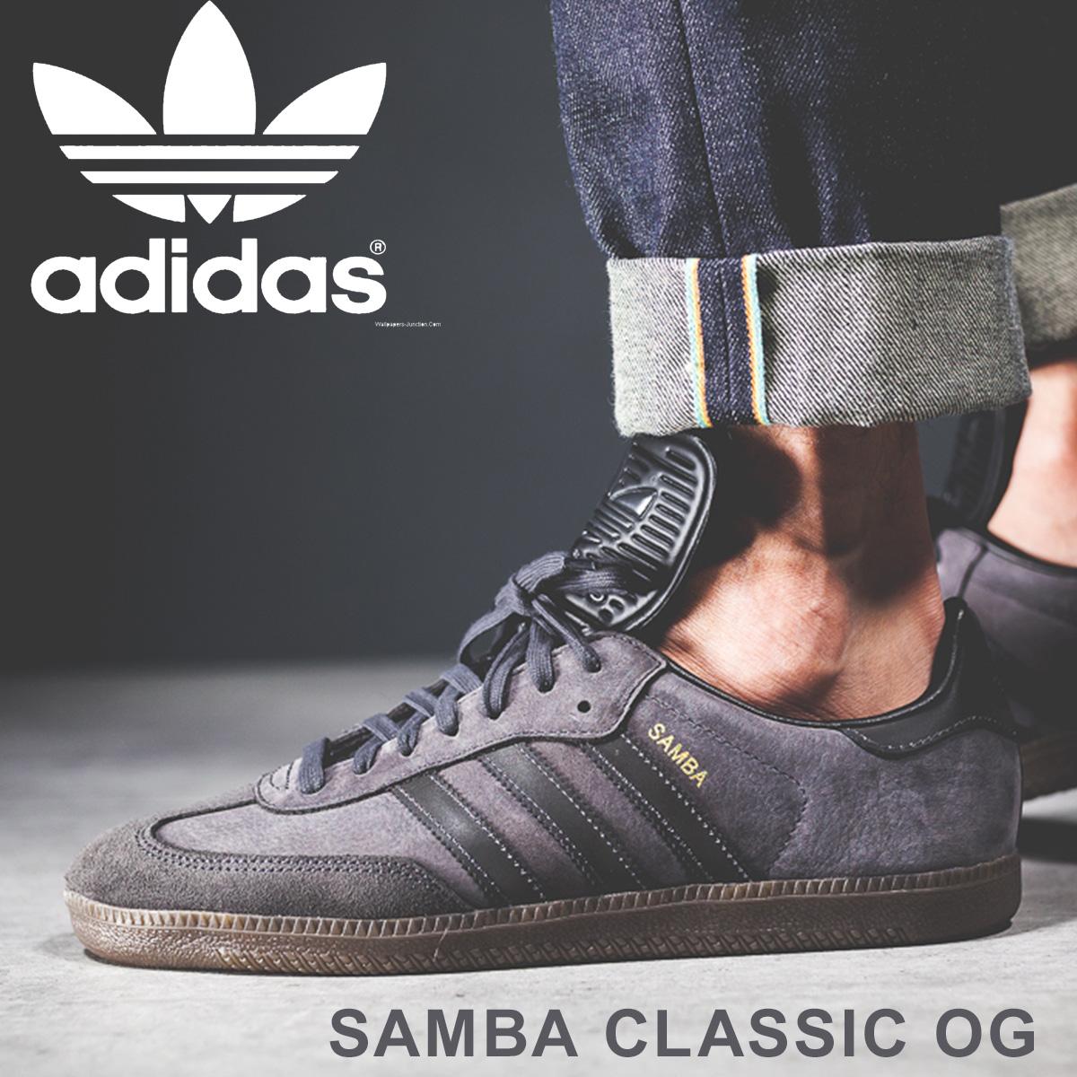 95a8fc66905 adidas Originals samba Adidas sneakers SAMBA CLASSIC OG men BZ0227 black  originals  load planned Shinnyu load in reservation product 3 20 containing