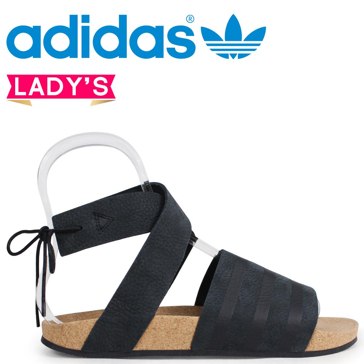 adidas Originals アディレッタ アディダス レディース サンダル ADILETTE ANKLE WRAP W CM8167 ブラック オリジナルス