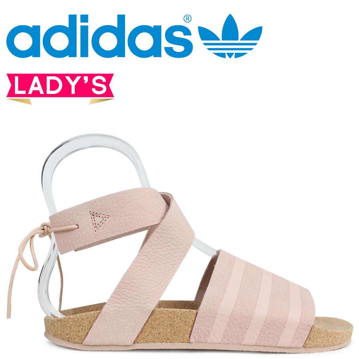 adidas Originals アディレッタ アディダス レディース サンダル ADILETTE ANKLE WRAP W CM8168 ピンク オリジナルス