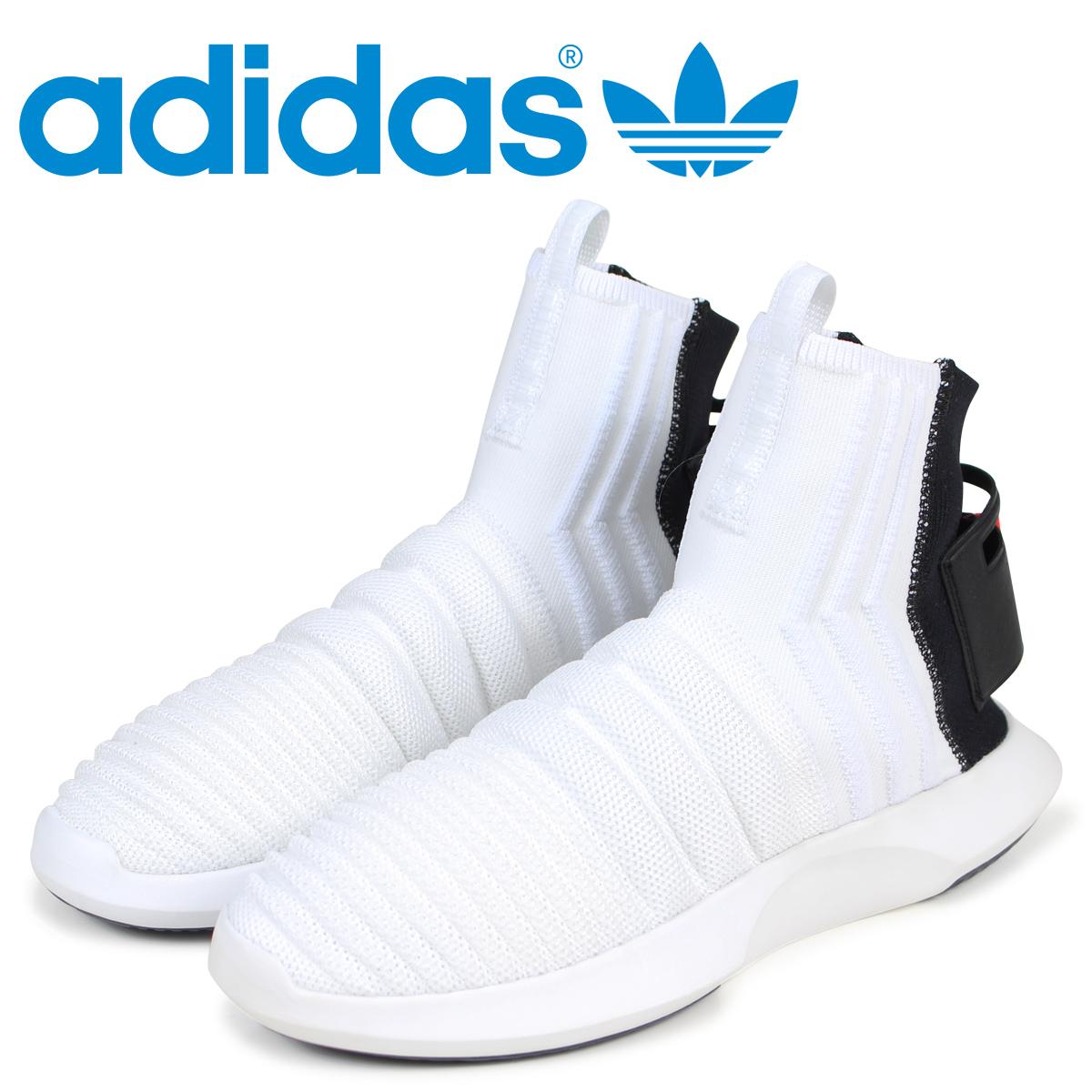 安いそれに目立つ adidas オリジナルス Originals クレイジー 1 アディダス アディダス スニーカー CRAZY 1 ADV CRAZY SOCK PK メンズ CQ0985 ホワイト オリジナルス, 三浦市:74ec9aff --- clftranspo.dominiotemporario.com