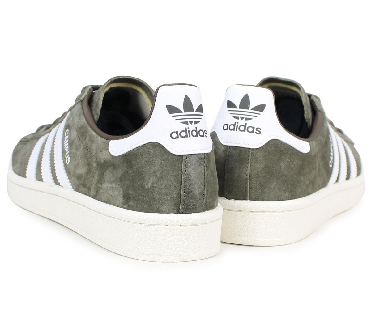 adidas Originals Campus Nubuck Branch Brown Chalk White Men Shoes Sneaker CQ2081