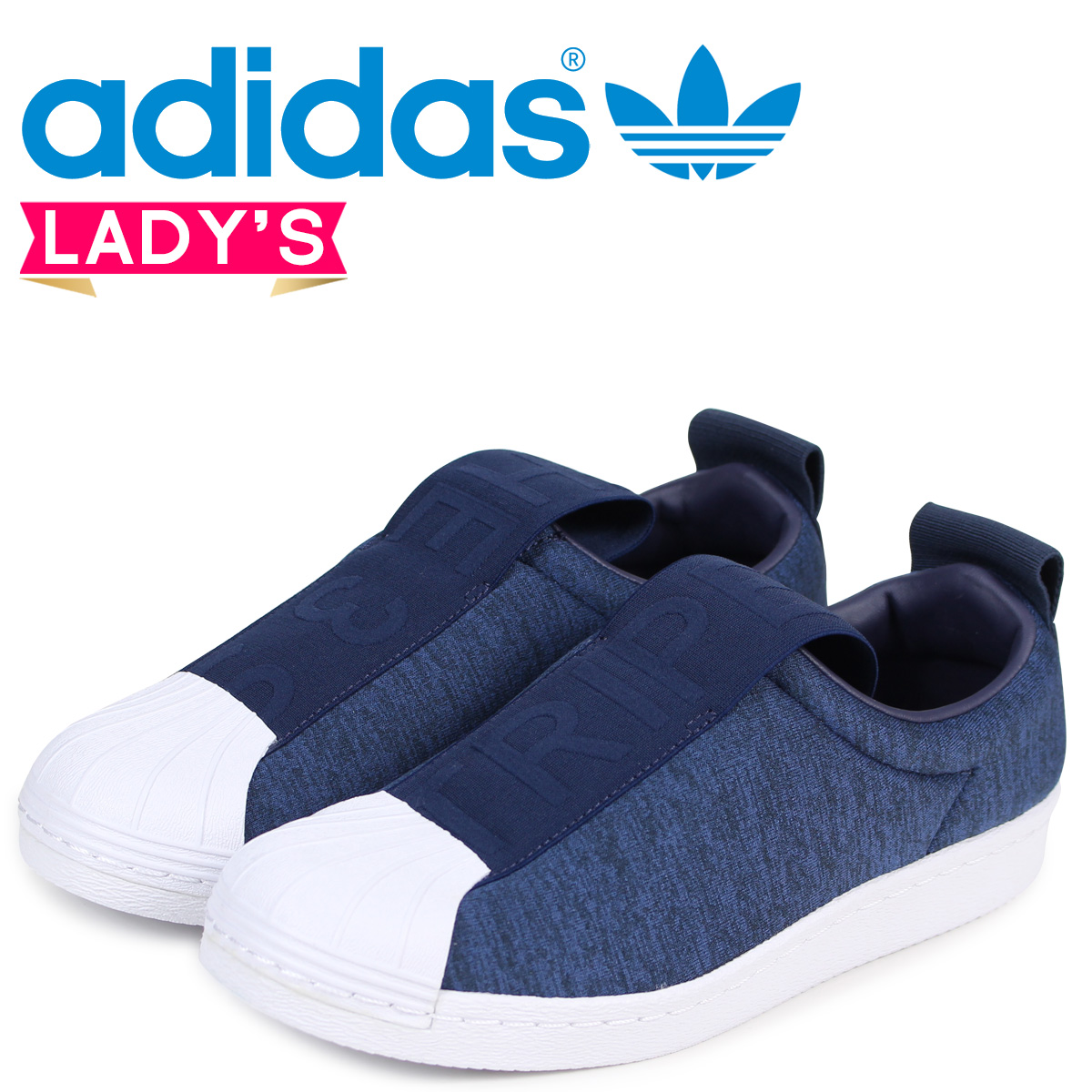 adidas superstar blue ladies