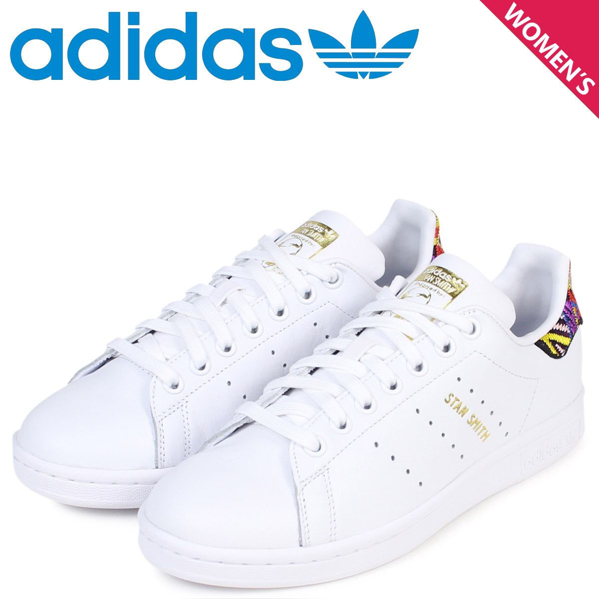 adidas originals Stan Smith Lady's Adidas sneakers STAN SMITH W CQ2814 shoes white [load planned Shinnyu load in reservation product 12/21 containing]