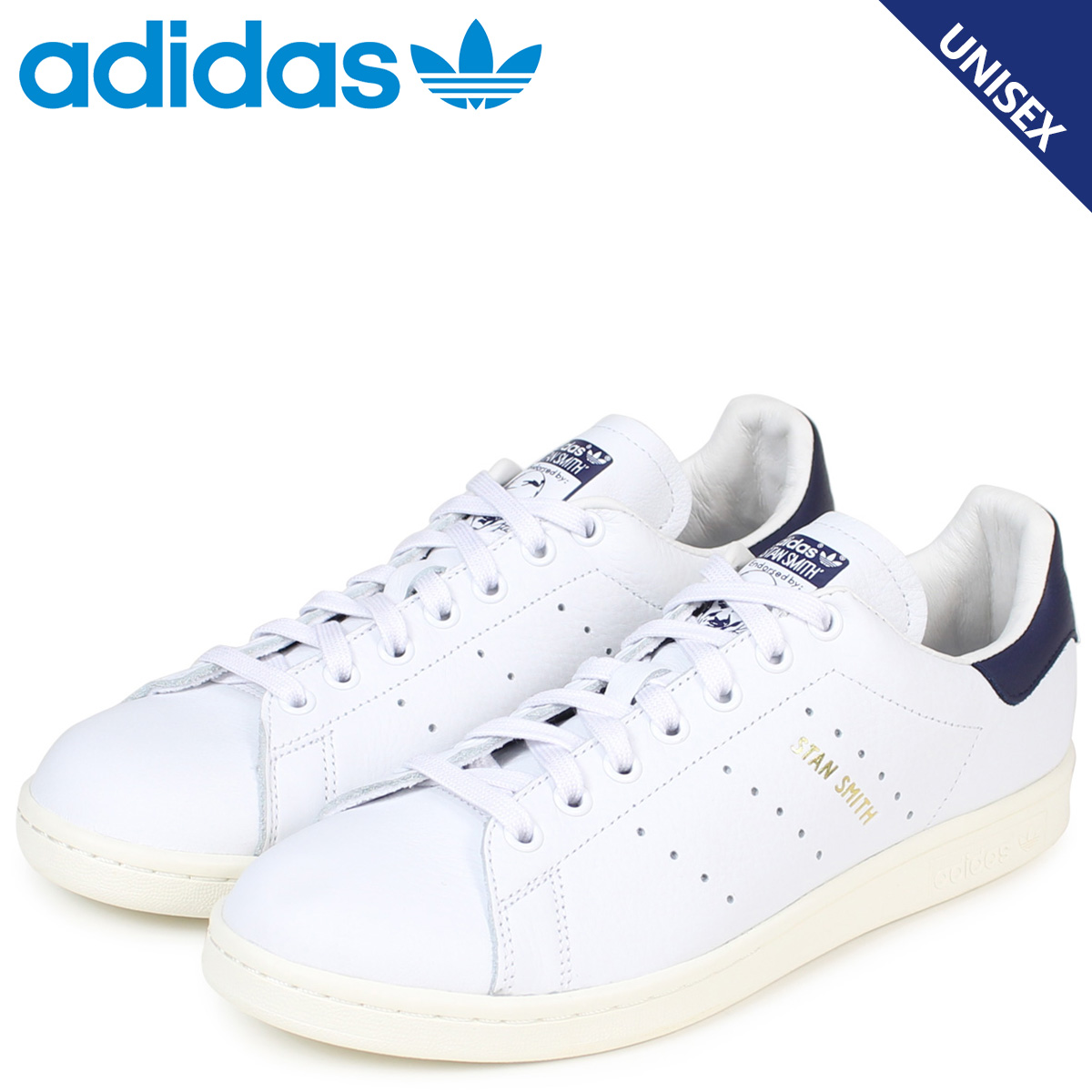 adidas originals Stan Smith Adidas sneakers STAN SMITH men CQ2870 shoes white [load planned Shinnyu load in reservation product 12/26 containing]